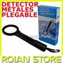 Detector De Metales Portatil Paleta Plegable Ideal Guardias