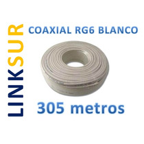 Cable Coaxial Rg6 Instalaciones Satelitales