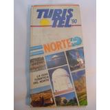 Norte De Chile Turistel Mapa Rutero Turistico 1990