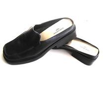 Zapatos Calzados Mujer Dockers Negros Cuero N°40