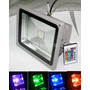 Foco Led 10 Watt Certificado Uso Exterior O Interior Colores