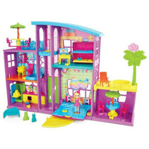 Polly Pocket Mega Casa De Sorpresas - Mattel - Envío Gratis