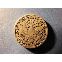 Quarter Dollar Cuarto De Dolar 1916 Plata 2,4 Cms Muy Buena