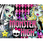 Kit Imprimible Cumpleaños Monster High Diseña Tarjetas + Env