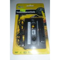 Cassette Adaptador Musica Vehiculo Auto Radio Sonido Fm Mp3