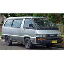 Software De Despiece Toyota Masterace / Van / Wagon 1982-89