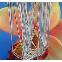 Cadena Baño Plata Esterlina 925 Modelo Serpiente