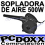 Sopladora Y Aspiradora De Aire P/ Maquinas 500w 13.000 Rpm