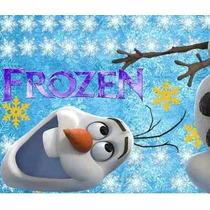 Kit Imprimible Frozen Invitaciones Candy Bar Cumples Oferta