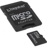 Memoria Tarjeta Micro Sd Xc Kingston 64gb Adaptador C10