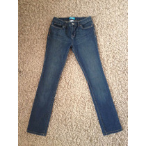 Jeans Pierna Skinny T/38 Semielasticados Tiro Medio