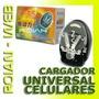 Cargador Universal Para Baterias De Celulares, Camaras, Etc.