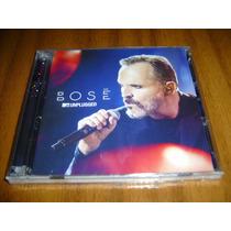 Cd+dvd Miguel Bose / Unplugged  (nuevo Y Sellado)