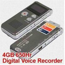 Grabadora Voz Digital 4gb Modo De Grabación Telefonica Mp3