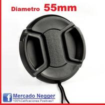 Tapa Diámetro 55mm Para Cámara Fotográfica Para Sony Alpha