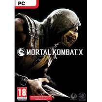 Mortal Kombat X - Steam Pc Gift Card Original Digital