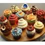 Recetas Cupcakes Con Videos Moldes Wrappers Y Toppers Kit
