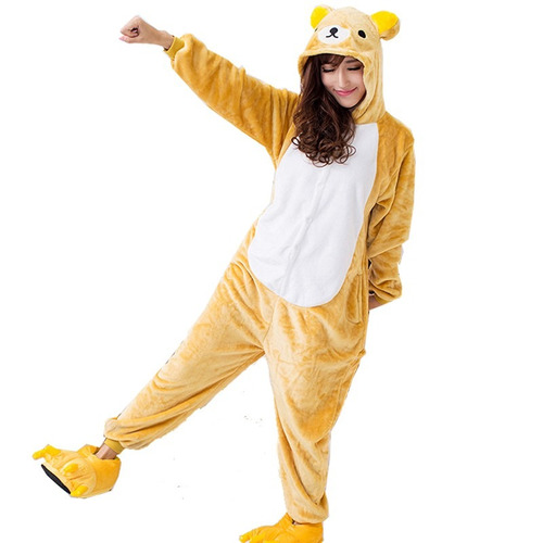 Pijama Kigurumi Oso Rilakkuma Polar Adultos