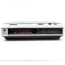 Antigua Radio Reloj General Electric Nueva De Los 80 Vintage