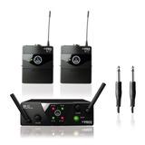 Transmisor Inalambrico Dual Uhf Akg Wms 40 Pro Mini