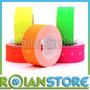 10 Rollos Etiqueta Auto Adhesiva Colores Fluorescentes