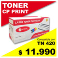 Toner Para Brother Tn 420-mfc7360, Compatible, 100% Nuevos.