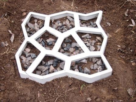 Molde de cemento para sendero de jardin otros a clp - Moldes de cemento ...