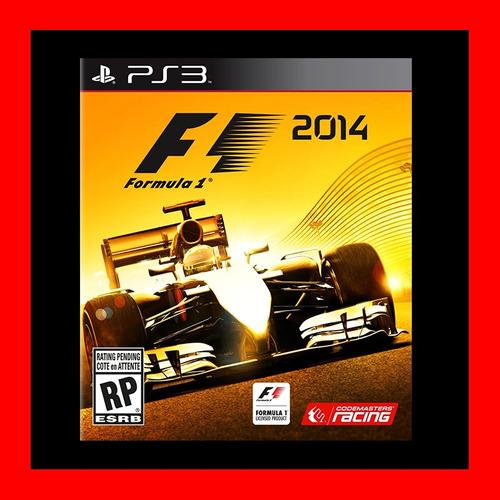 F1  2014 Ps3 Digital Oferta Caja Vecina Cuenta Rut !!!