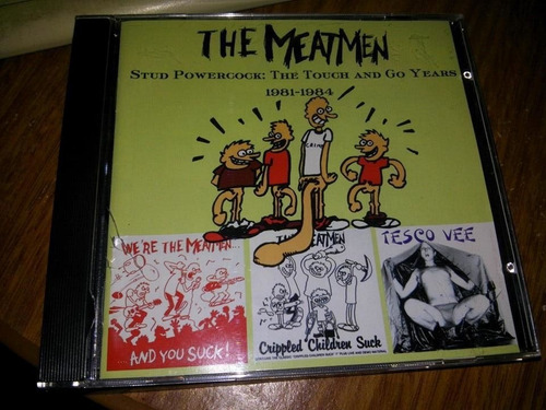 The Meatmen - Stud Negative Approach Hardcore Punk Exploited