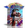 Kit Imprimible Capitan America Cumpleaños Infantil Cotillón
