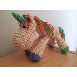 Unicornio Crochet (amigurumi)