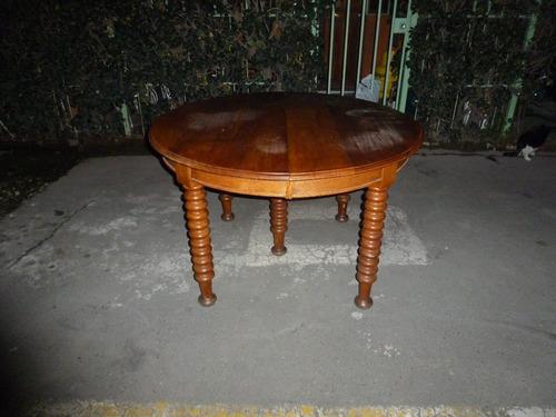 Mesa Comedor Antigua Roble, 12 Pers. 130 X 265 Cm 3 Extens ...