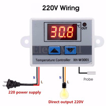 Termostato Digital De 220 Volt X 10 Amp Temp.- 50°c ~ 110°c