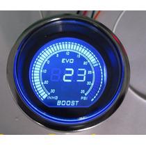 Reloj Medidor Presion Y Vacio Turbo En Psi 60 Mm