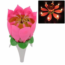 Vela Flor Musical 3 X $4.500