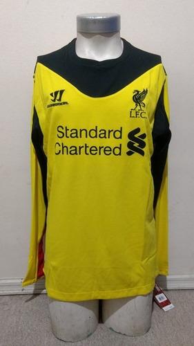 5a798ac01b336 Camiseta Liverpool 2012-2013 Arquero Warrior Nueva Original