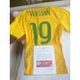 Camiseta Futbol, Usada Por Marcelo Y Wilian, Contra Chile
