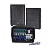 Set De Amplificación Wharfedale Pmx 700 (envío Gratis)