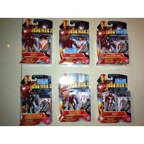 Figuras Iron Man 2 Nuevos Sellados Marvel Cómics Movie Serie