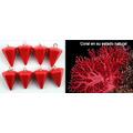 Péndulo Coral Rojo, 2cm