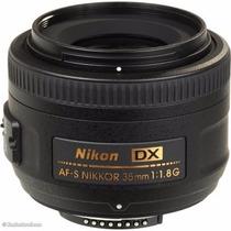 Lente Nikon 35mm F/1.8g Af-s Dx   Garantía   Smartdevice