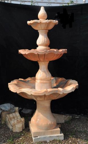 Bella  Fuente  De  Agua En Mármol -  160cms