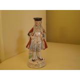 Muñeco O Figura  De Porcelana Antiguo 13 Cm