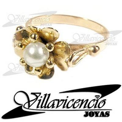 d8b9a5b49c20 Anillo De Oro 18k 2.2 Gr Perla Cultivada - Cod 3067 -   135000 en ...