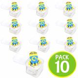 Pack 10 Mp3 Musica Minions Mp3 Audifonos Usb/ Fernapet