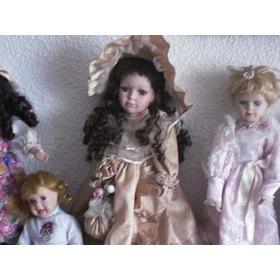 Muñecas De Porcelana Antiguas Muñecas Hermosas Oferta Muñeca