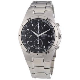 Seiko Se-snd419 Titanium Cronógrafo Del Reloj W Envío Gratis