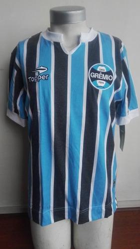 Camiseta Gremio Retro Nueva Original Topper Importada 5f8edc3d2151b