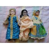 Muñecas Porcelana Paises