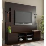 Mueble Rack Atenas Tabaco Tv 32 A 60 - Ikean
